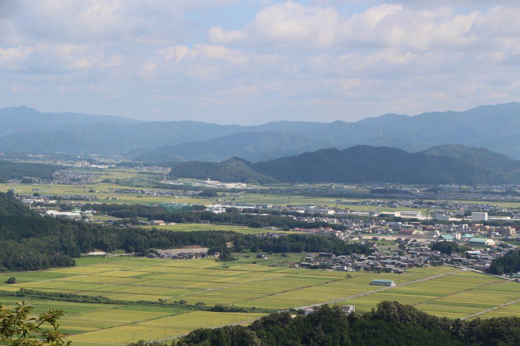 小谷城からの眺め