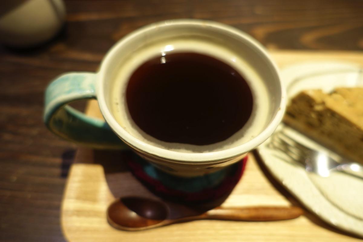 コーヒーのアップ