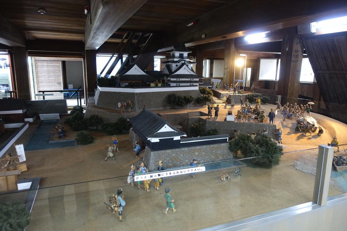 高知城模型