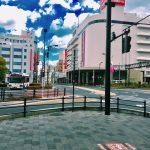 駅前の写真