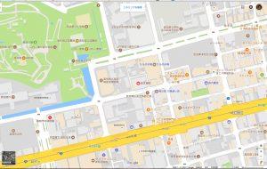 パソコンのGoogleマップ