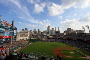 メジャーリーグの球場