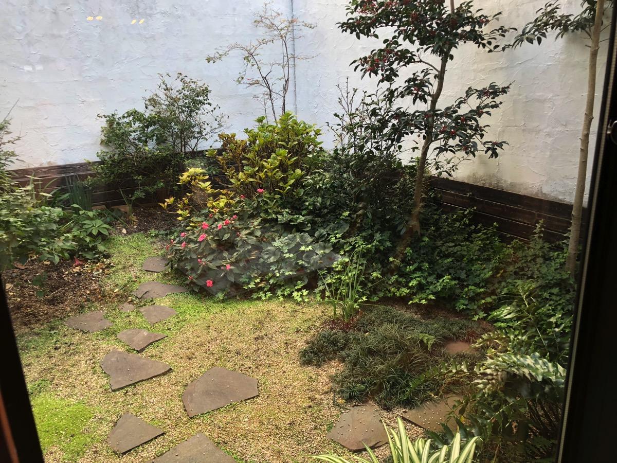 ジョンバーガー中庭