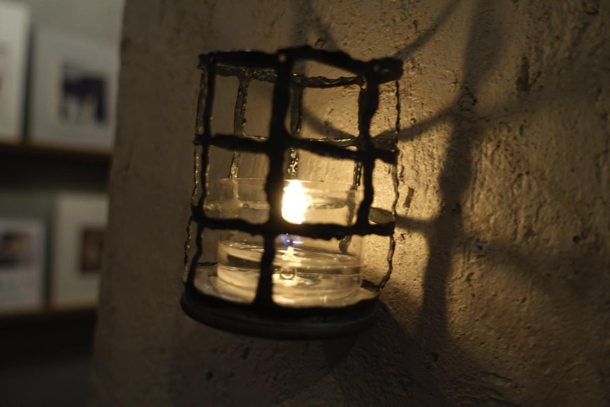 紙片の照明