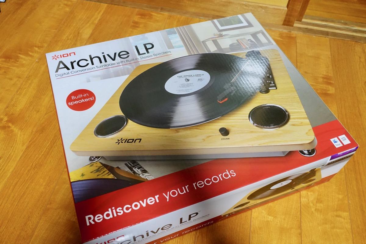Archive LPの外観