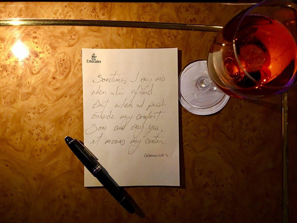 夜のノート