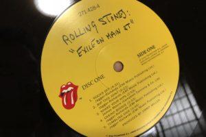 「Exile On Main St.」の盤面