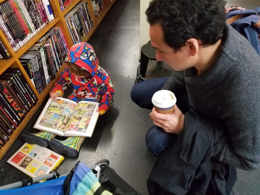 本を読む子ども