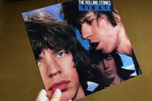 ブラックアンドブルーの日本盤レコード