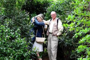 植物園と家族