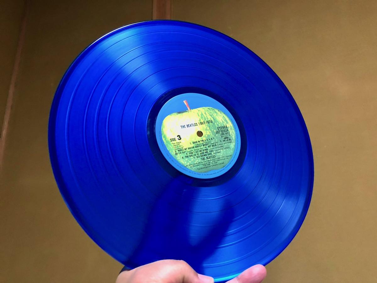 青盤の盤面