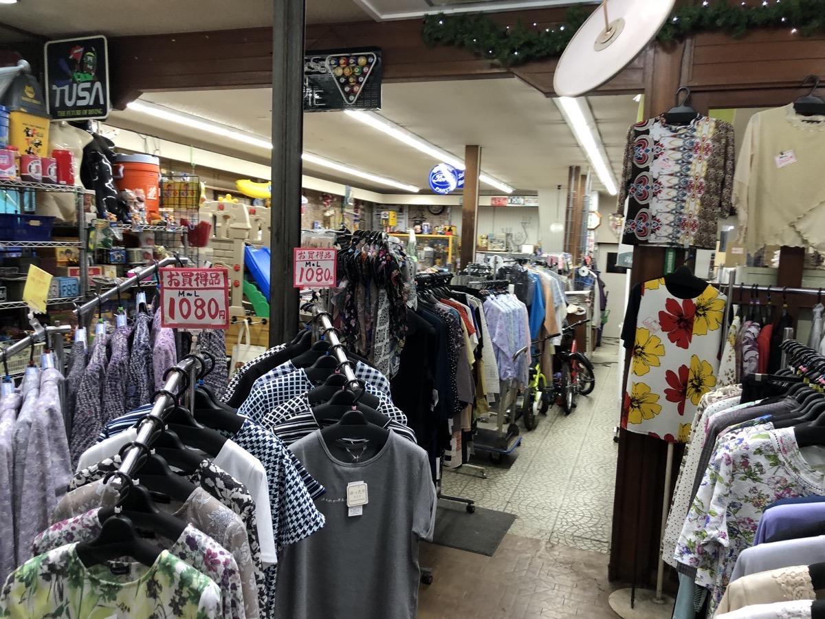 倉敷の商店街のお店
