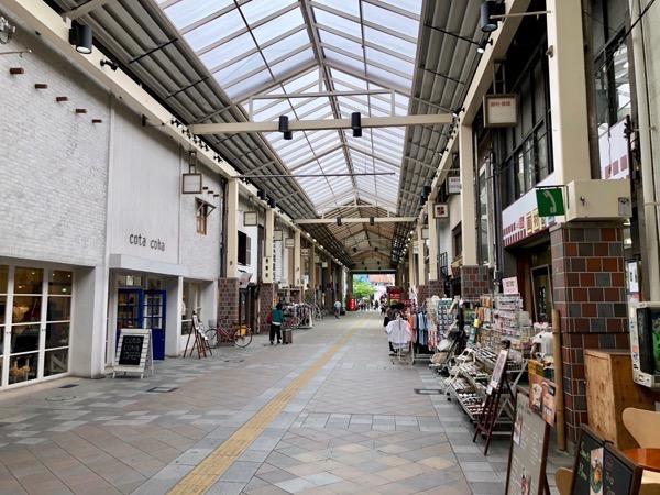 倉敷の商店街