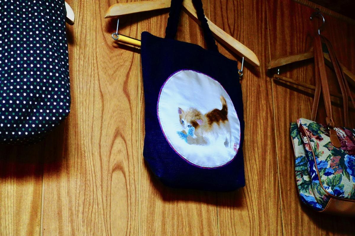 猫のバッグミミズク