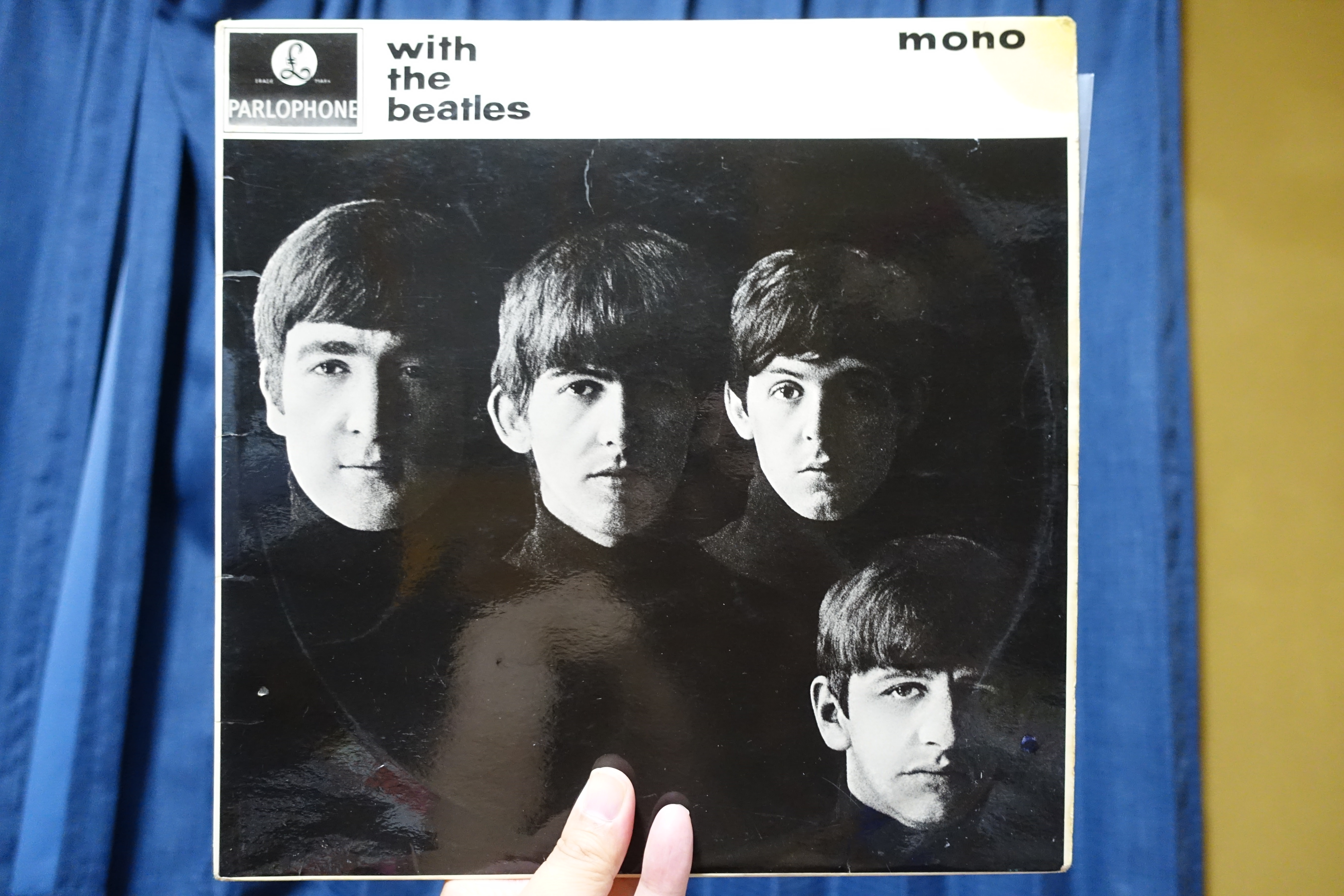 「with the beatles」UK MONOマトリクス7N