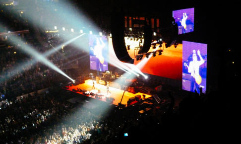 ポール・マッカートニーのライブの様子