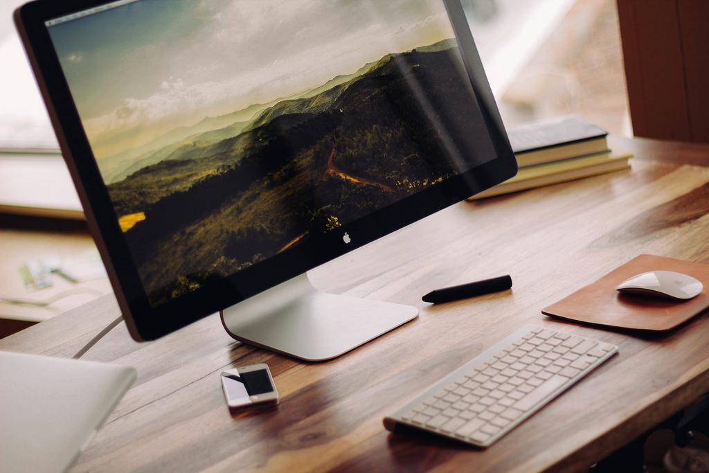 Macでブログを書いています
