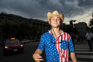 アメリカ人の青年