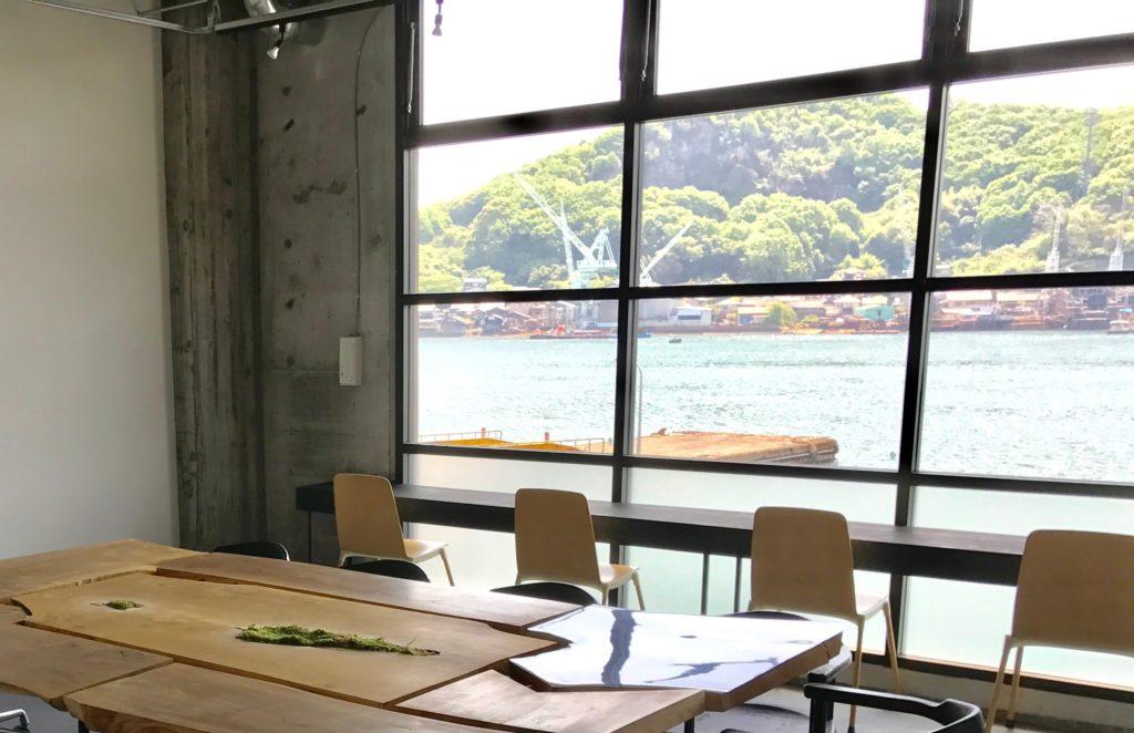 Onomichi Shareのセッションフロアから見た光景