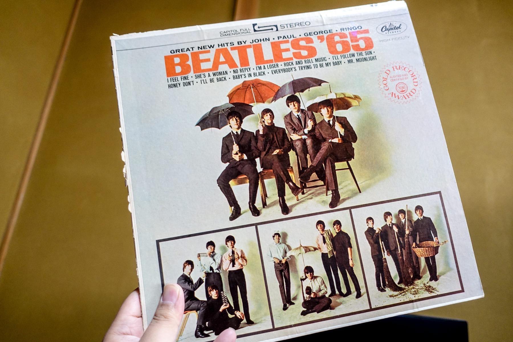 Beatles'65のUS盤