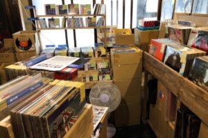 尾道レコードの店内の様子