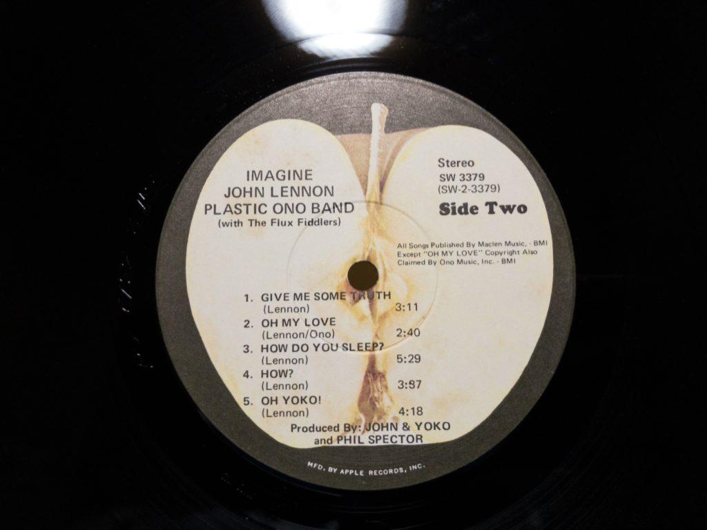 ジョン・レノンのイマジンUS盤のB面