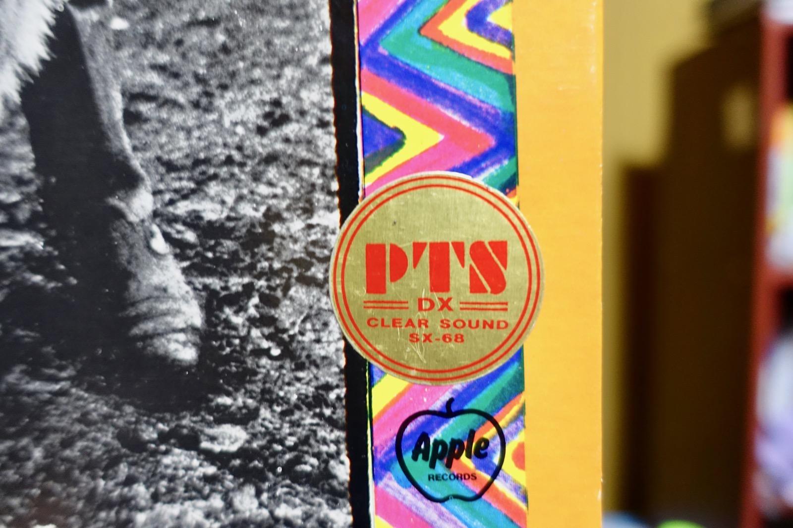 PTS盤のシール