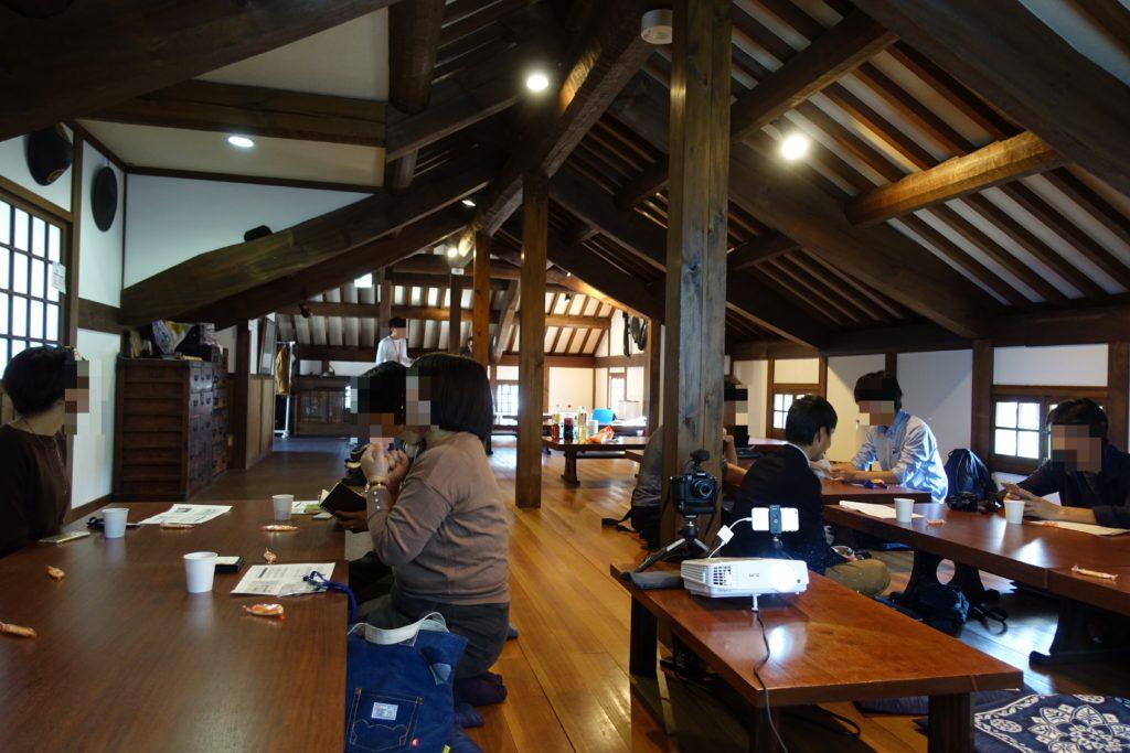 岡山ブログカレッジの光景