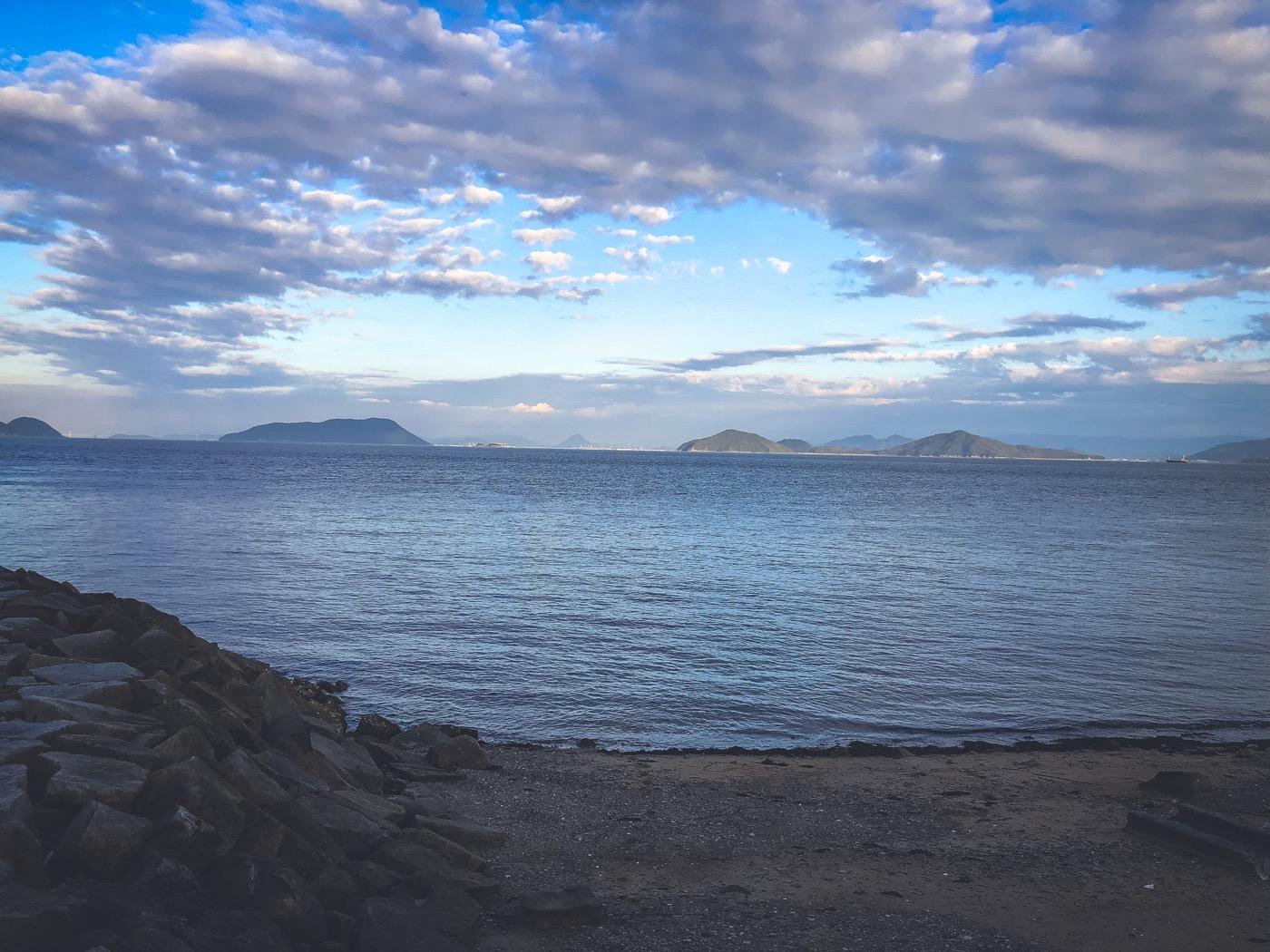 六島からの眺め