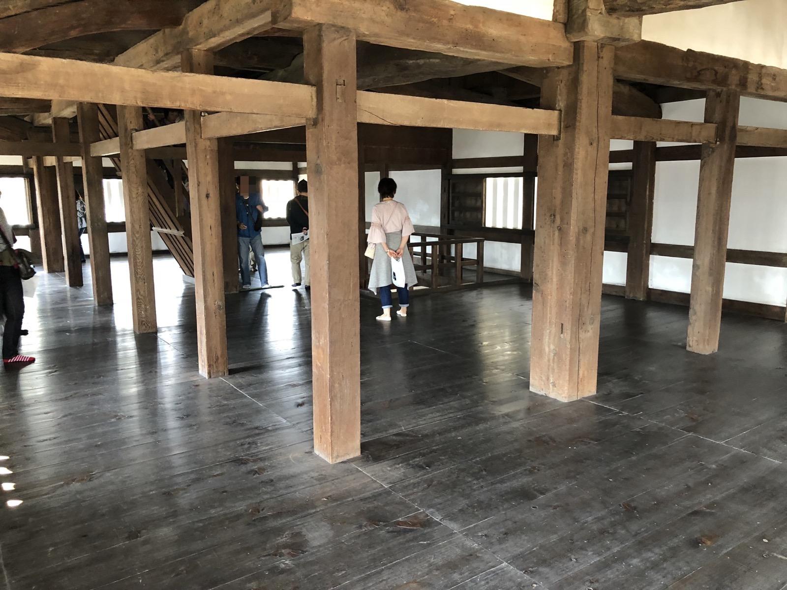 伏見櫓の内部