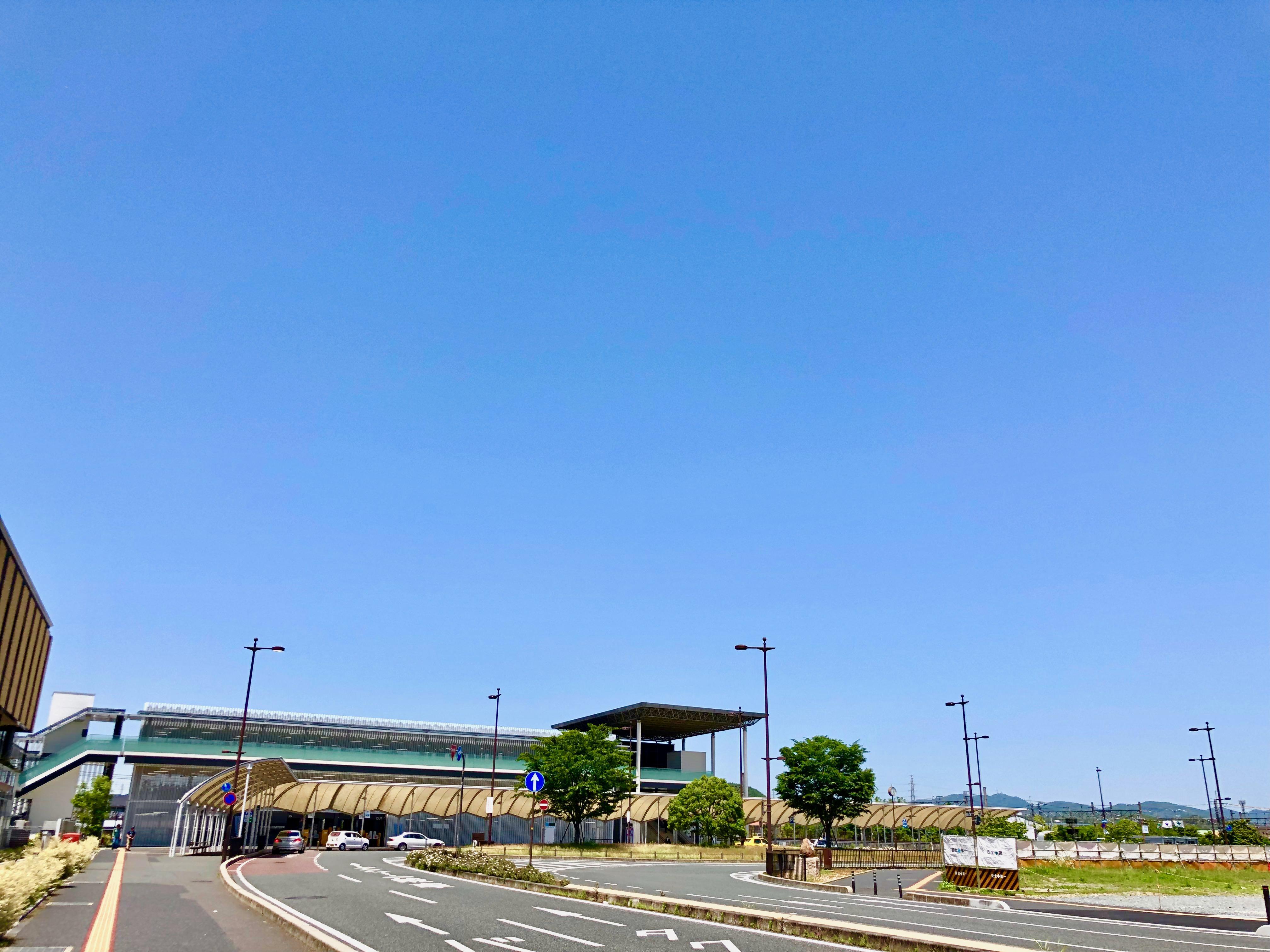 天気のいい岡山市