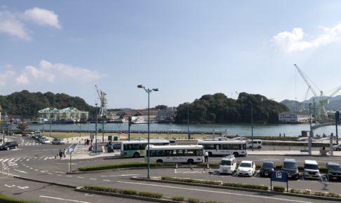尾道駅の光景