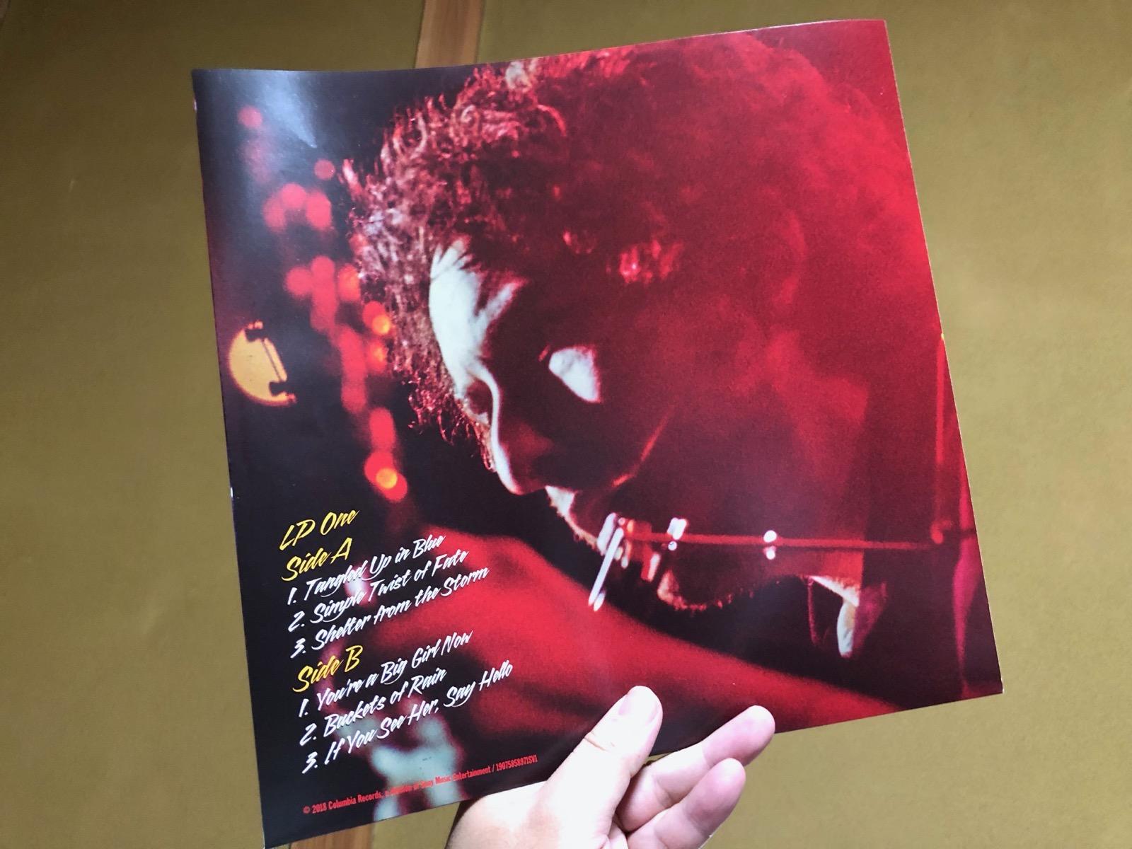 ボブ・ディランのMore Blood More TracksのDisc1