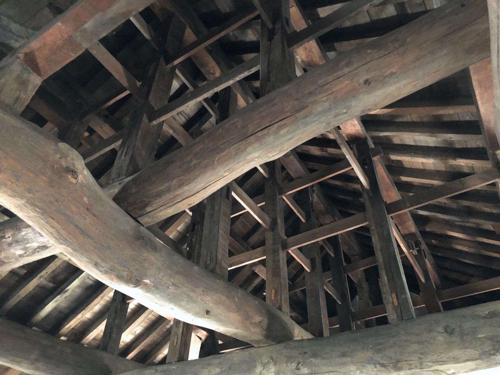 伏見櫓の天井