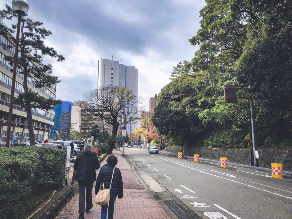 金沢の中心部