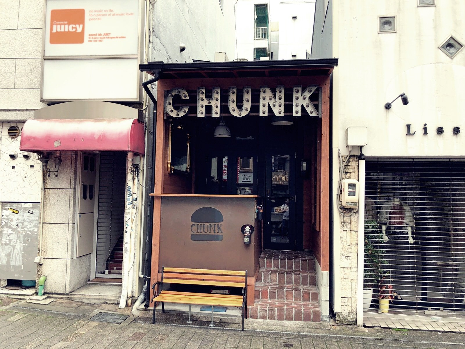 Chunkの外観
