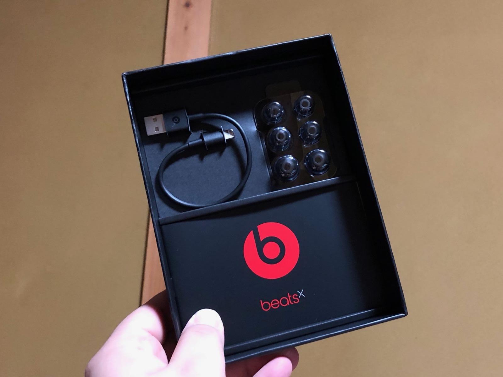 Beats Xの内容品