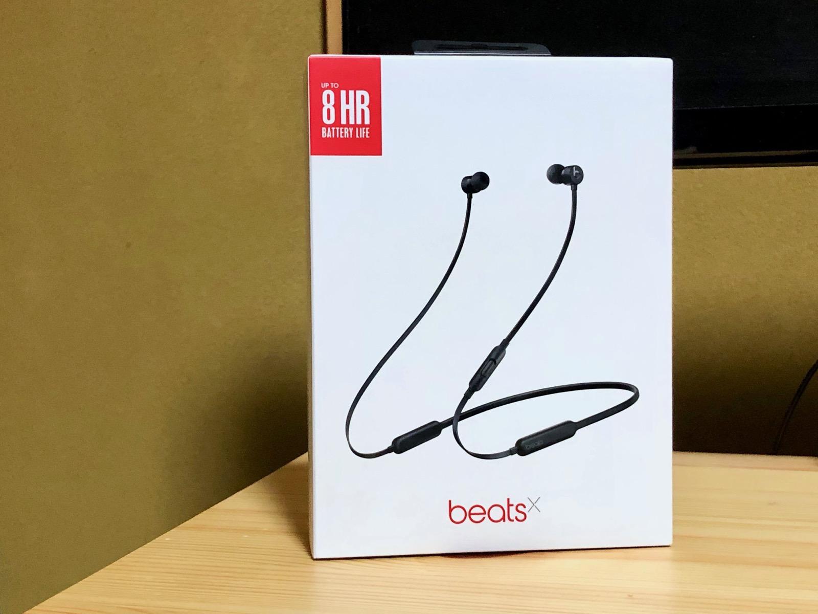 Beats Xの外箱