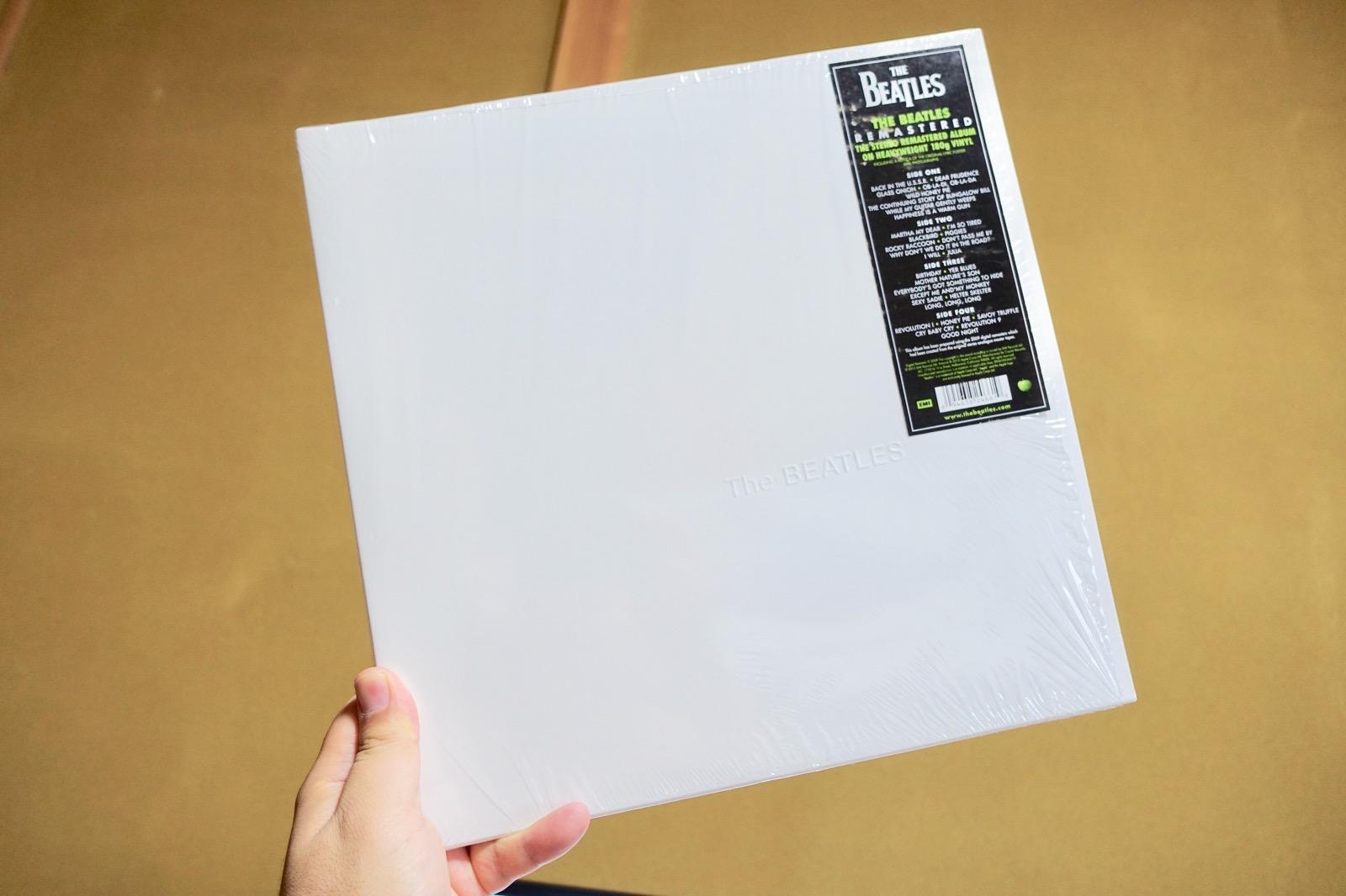 ビートルズのホワイトアルバム2009リマスター