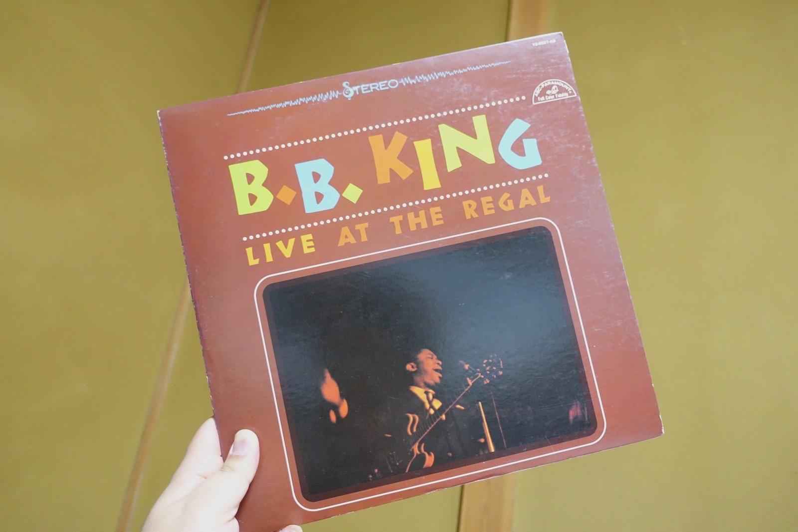 B.Bキングのライブアットリーガル