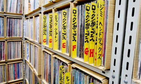 レコードの棚