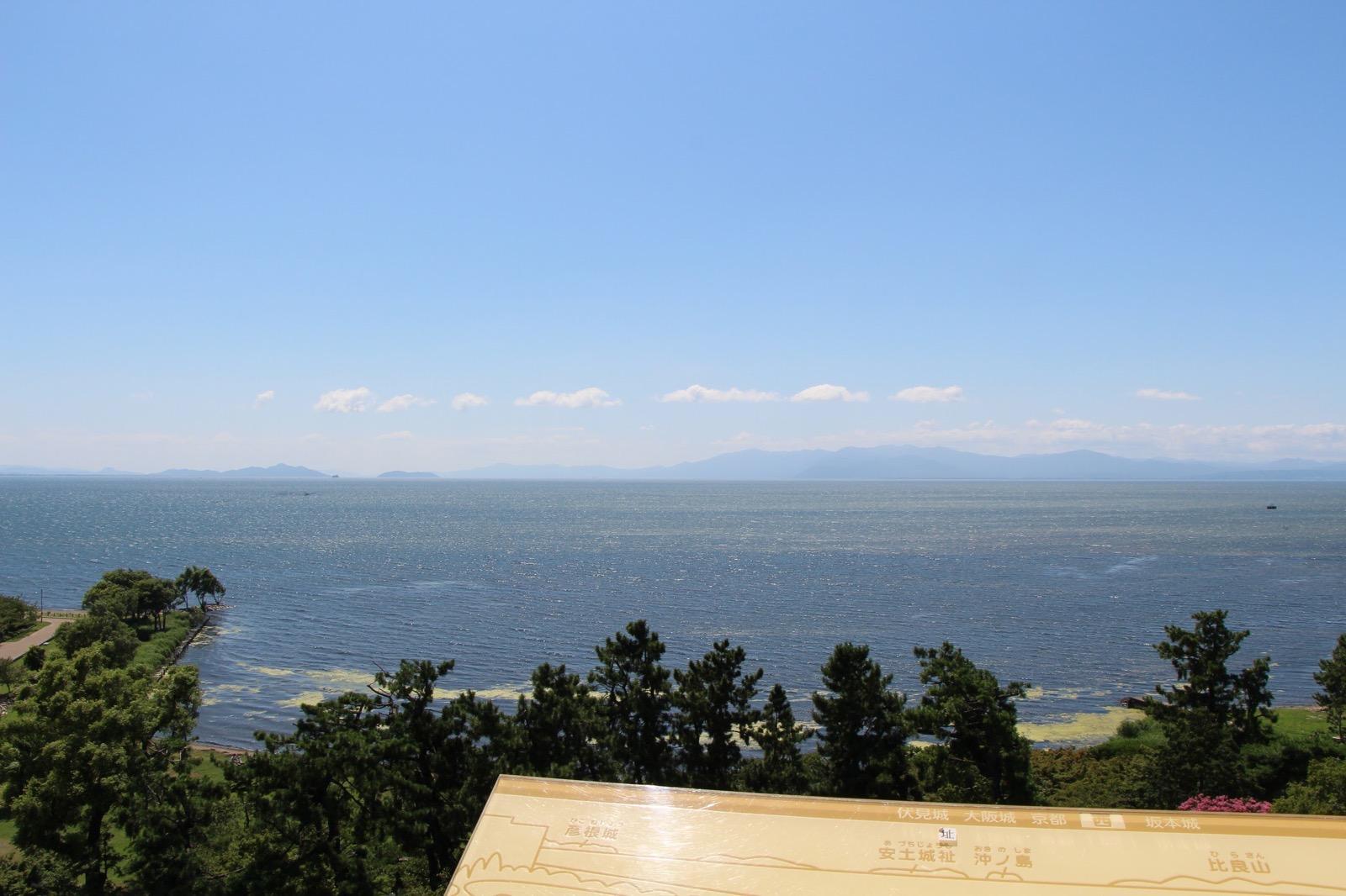 作品に登場する琵琶湖