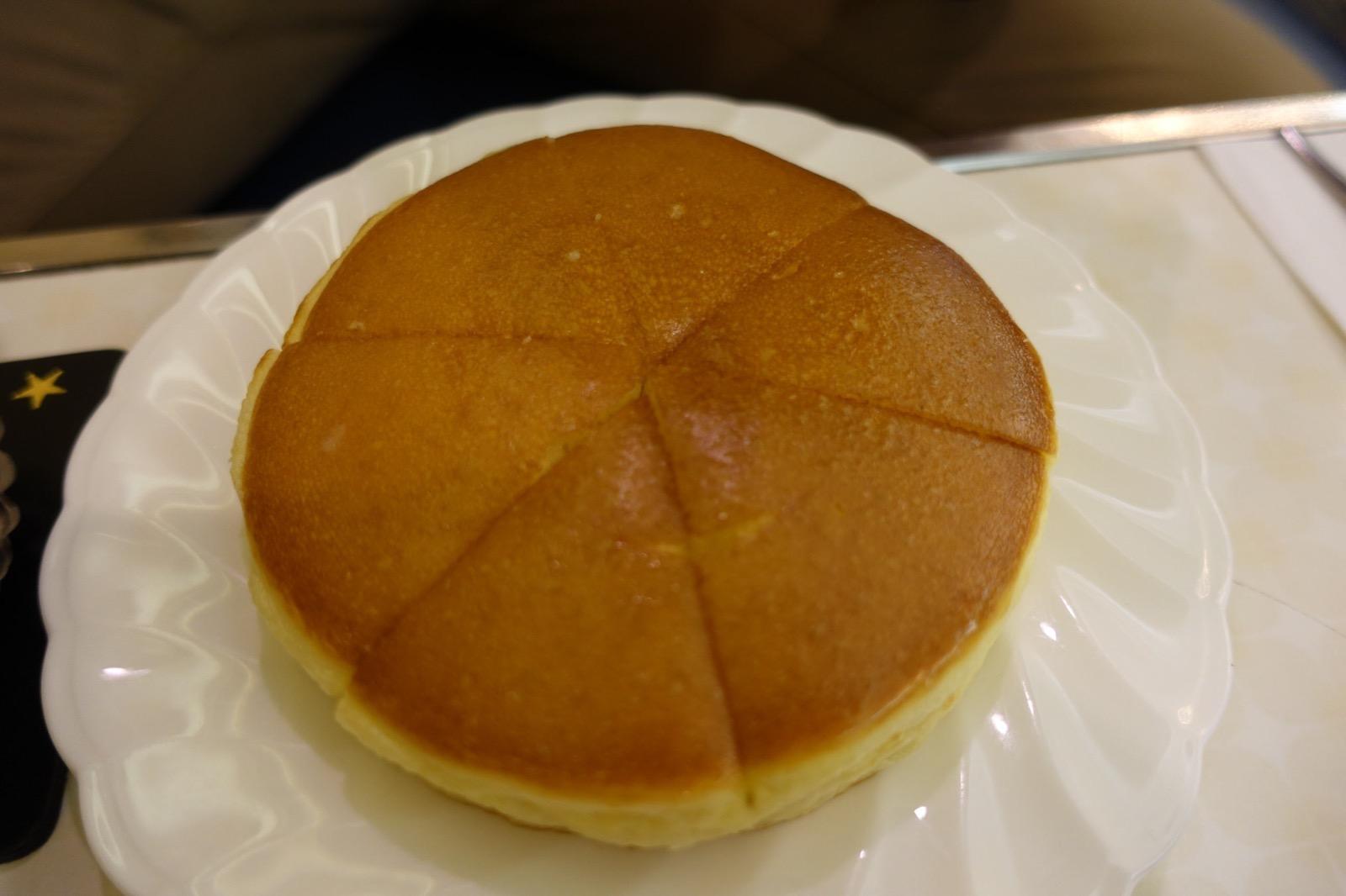 名物のホットケーキ