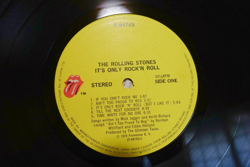 It's Only Rock 'N Rollの国内盤ストーンズ