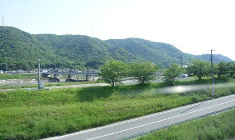 井原線からの風景
