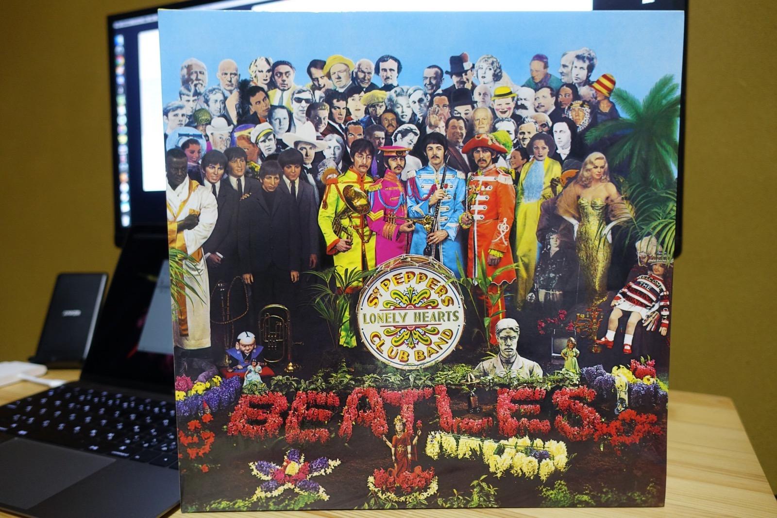 サージェント・ペパーズのCDのケース Beatles