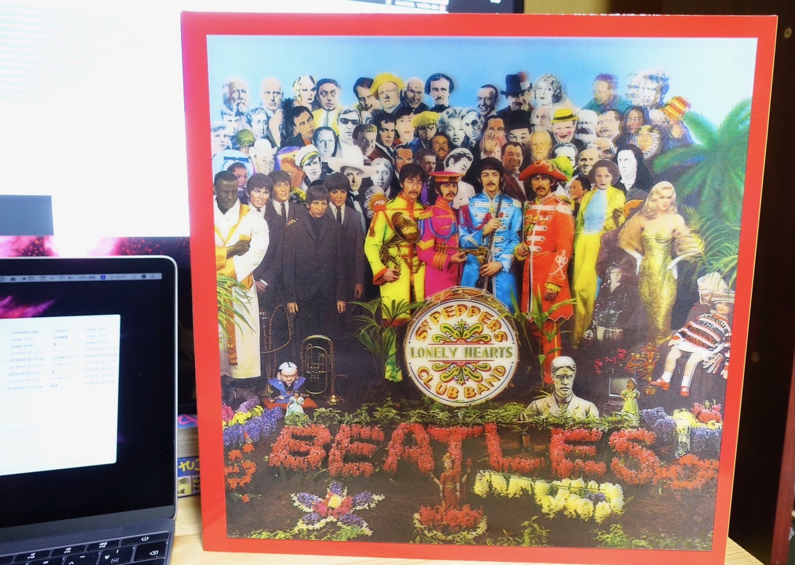 Sgt. Pepper's Lonely Hearts Club Bandのボックス Beatles
