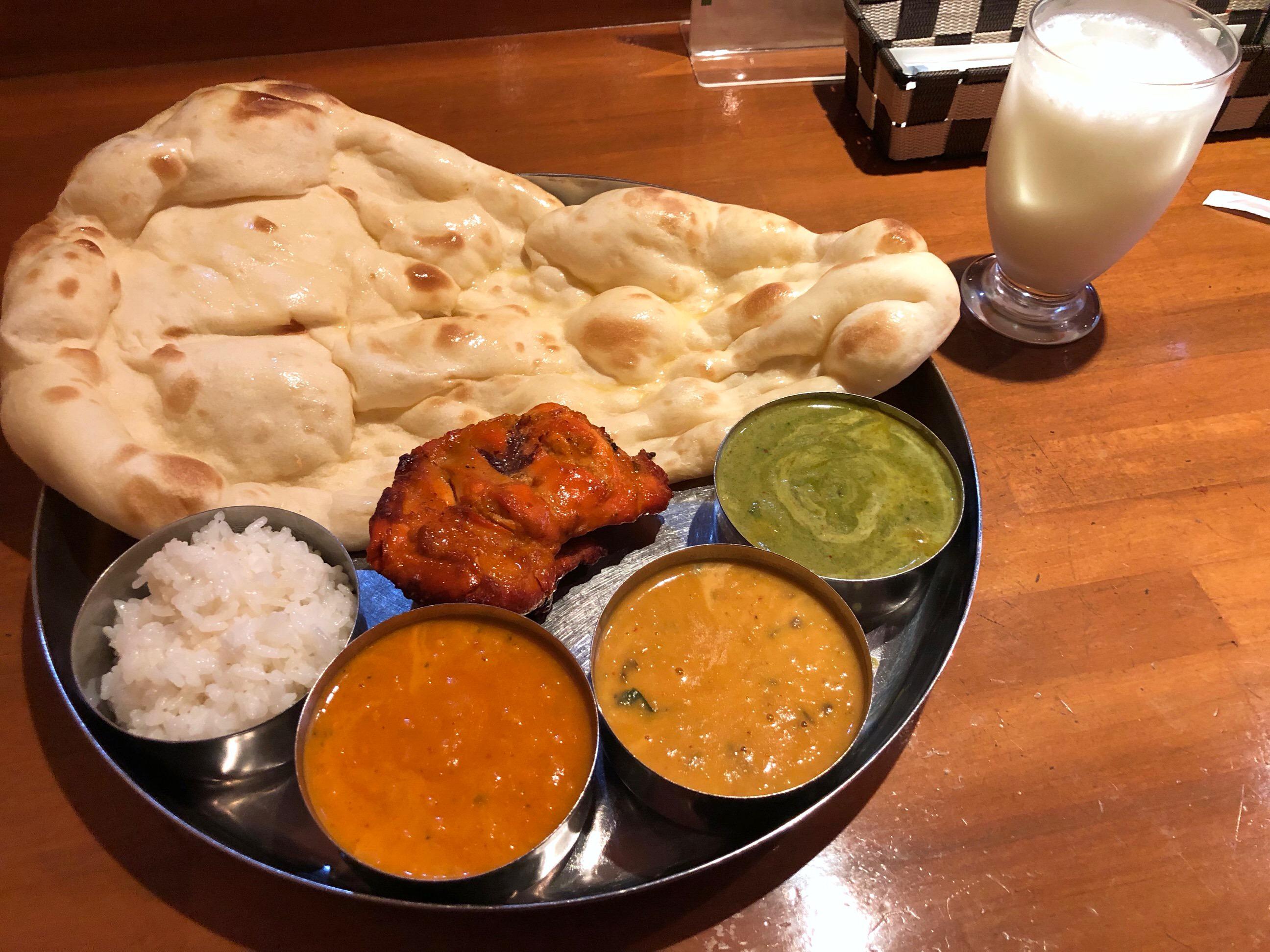 サンガムデラックスセット curry