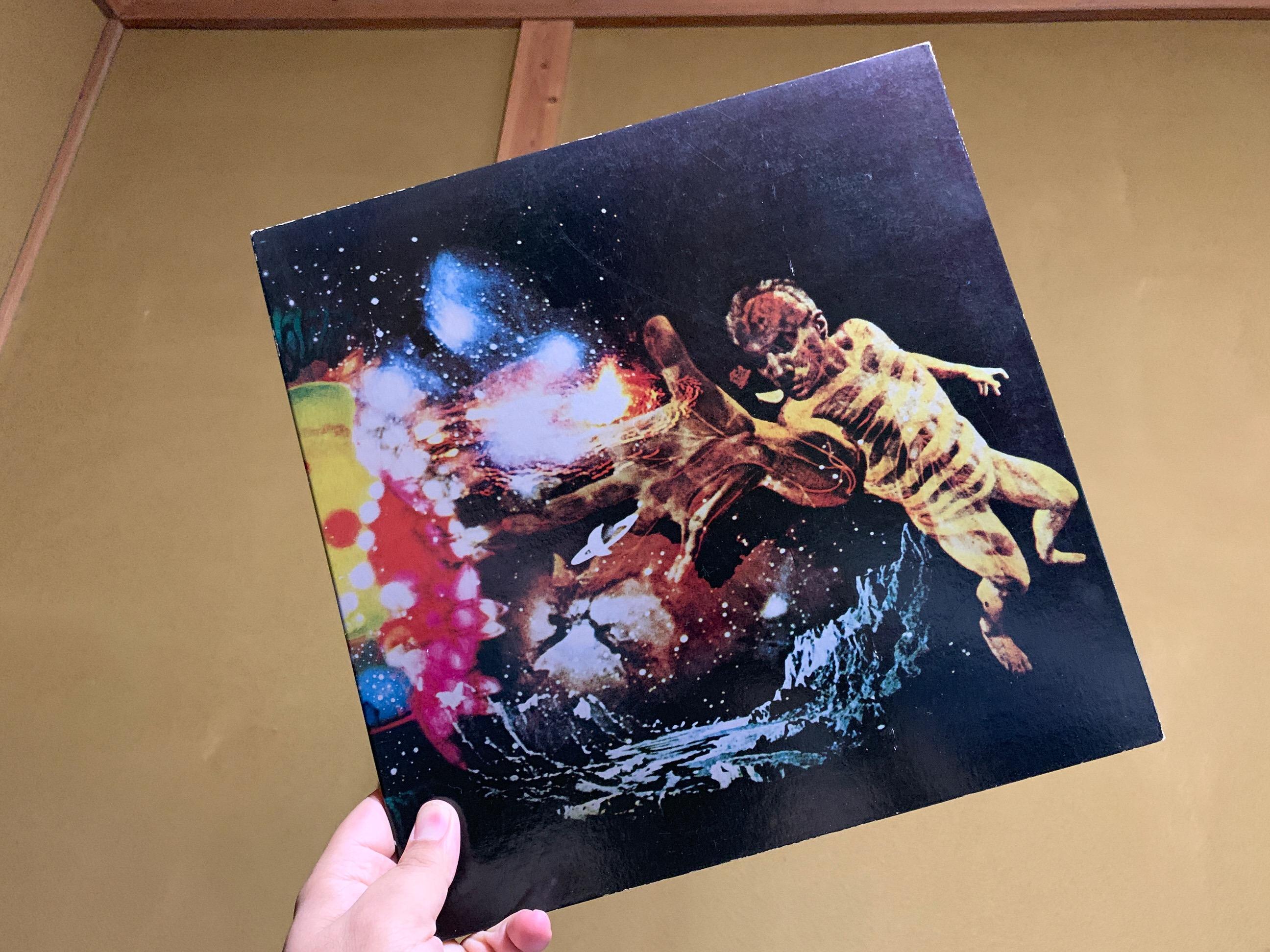 サンタナのレコード 4チャンネル quadrophonic