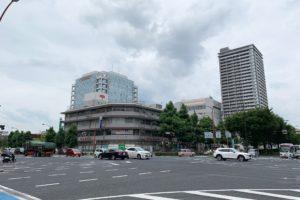 福山駅前大通り fukuyama